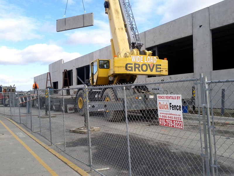 Temporary Construction Fences : Temporary construction fence fencing